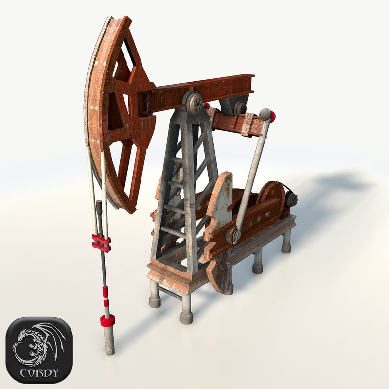 red oil 3d max