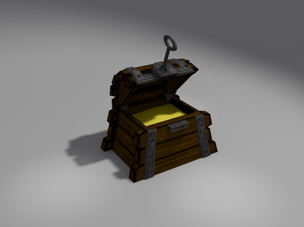 chest wooden 3ds free