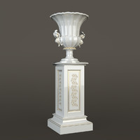 vase classic 3d model