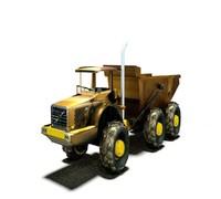 3d model tipper truck
