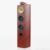 floorstanding bowers wilkins 804 3d model