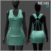 3ds dress green