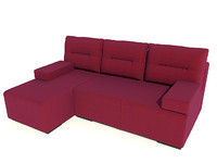 3d model sofa marta pufetto
