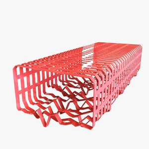 bench tf urban 3d max