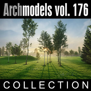 max archmodels vol 176 trees