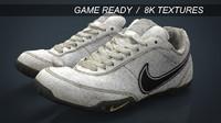 realistic sneakers 3d model