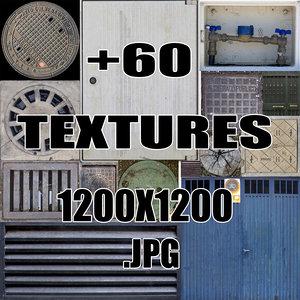 Street Elements Textures