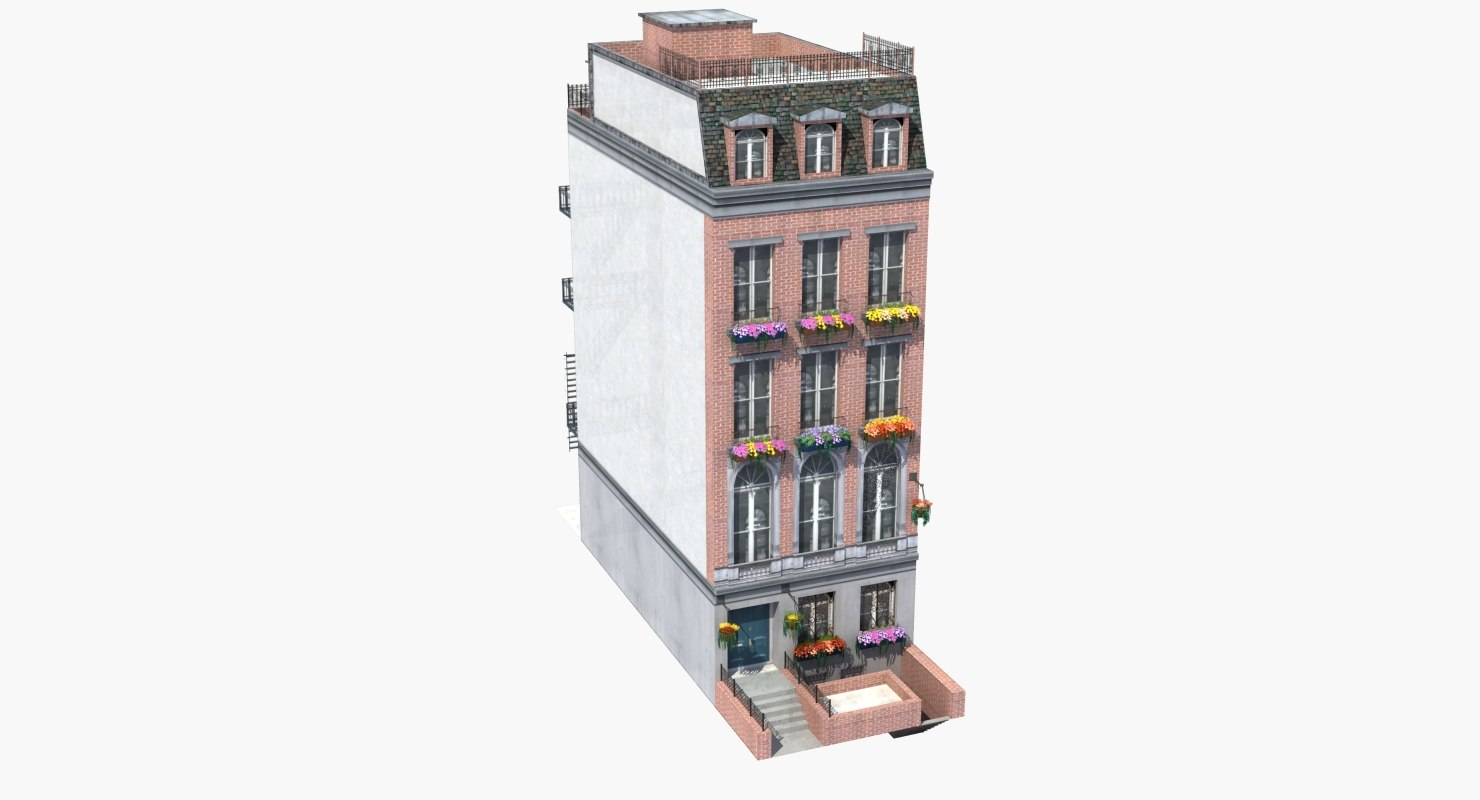 luxury town house building max