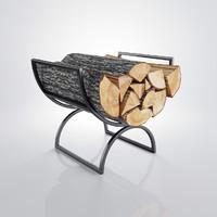 3d firewood stack model