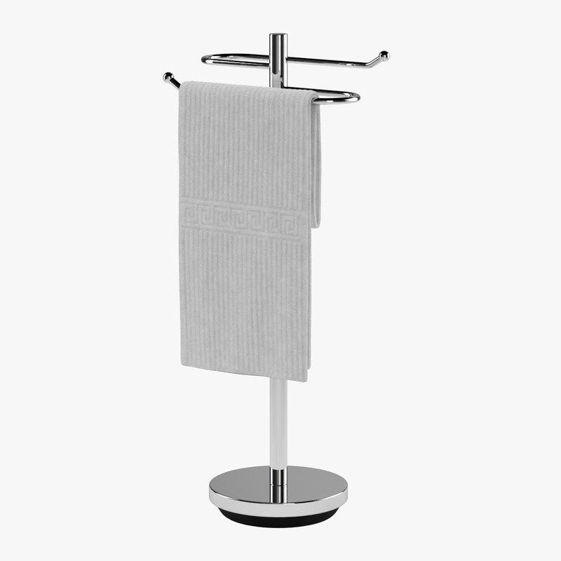 3d max towel rack 01