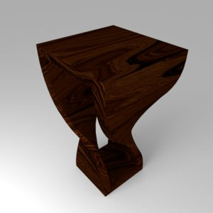 free 3ds model twisted table