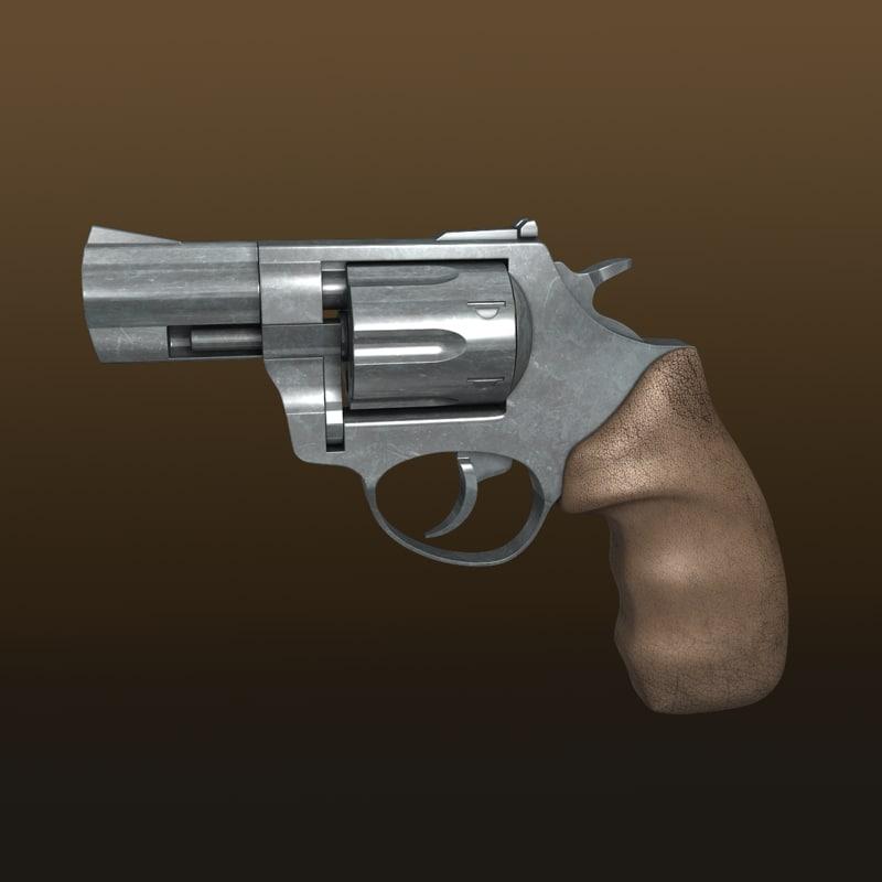 3d max modeled bullets