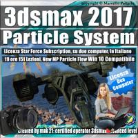 3ds max 2017 Particle System e Particle Flow Subscription 2 Computer