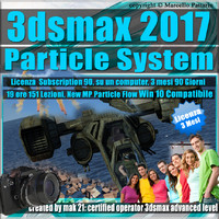 3ds max 2017 Particle System e Particle Flow Subscription 1 Computer