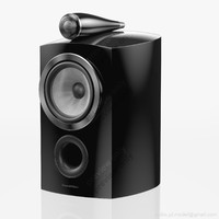 bookshelf bowers wilkins 805 3d model