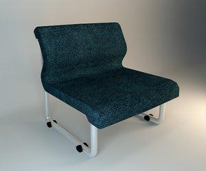 single sofa 3d model