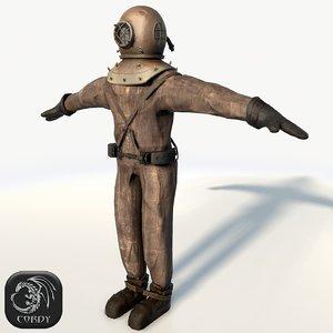 old suit 3d 3ds