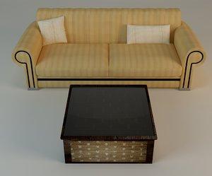 le sofa table 3ds