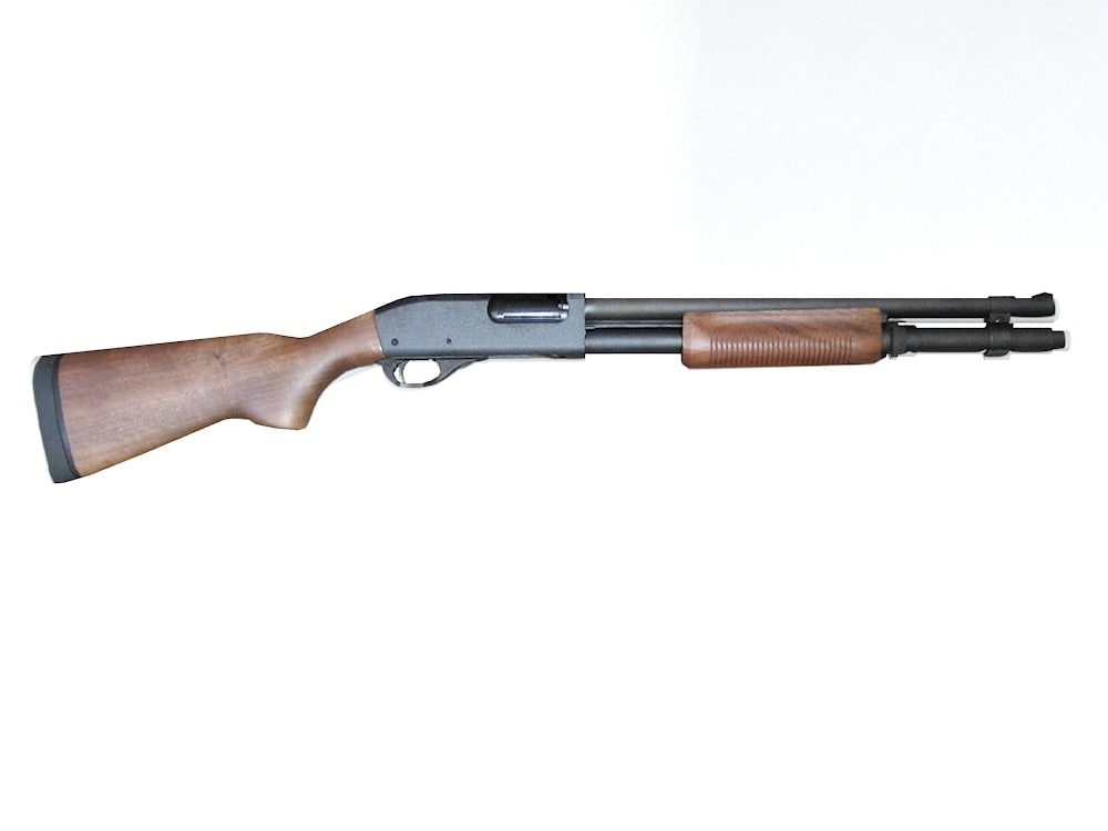 shotgun remington 3d max
