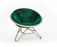 esmeralda chair mia 3d model