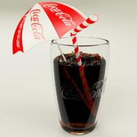 3ds coca cola cup ice