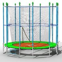 trampoline big 3d max