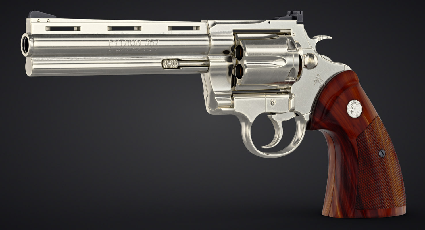 Revolver Colt Python