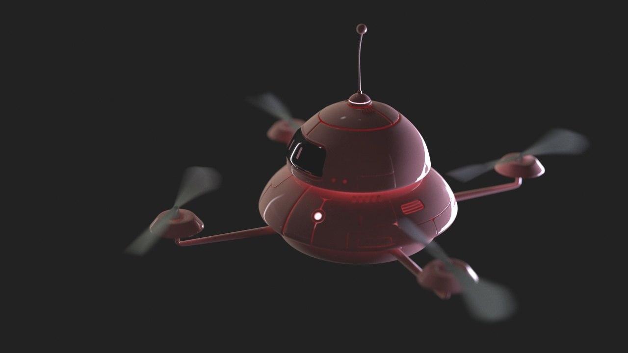 robo t dron max