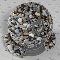 Stone Gravel Material for Blender Cycles