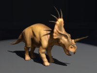 styracosaurus 3d fbx