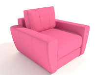 3d 3ds armchair andrea pufetto