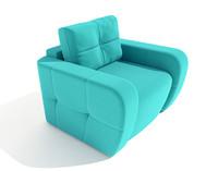 3d armchair renata pufetto