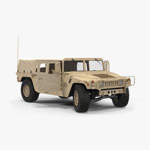 3d soft troop carrier hmmwv
