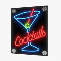 Cocktail Sign v1