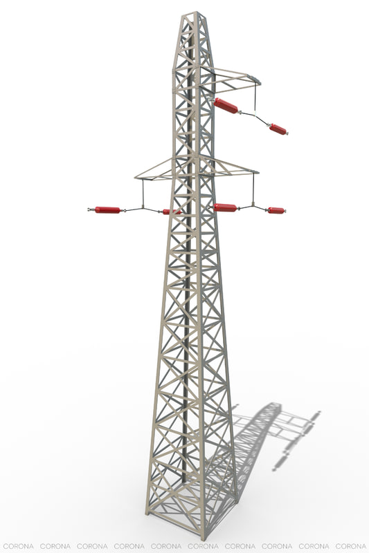 3d max power lines