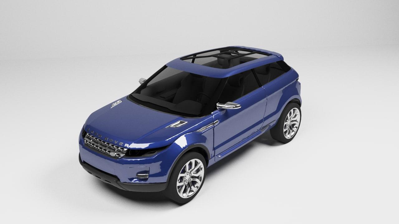 land rover 3d model