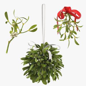 max mistletoe ribbon