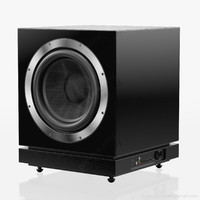 subwoofer bowers wilkins db1 3d model