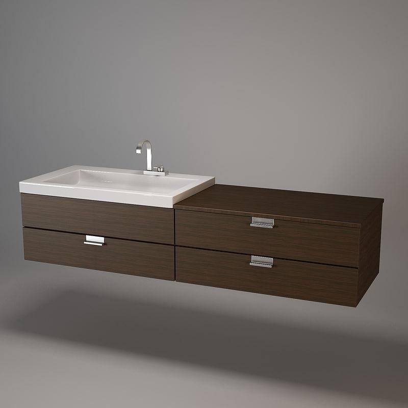 3dsmax washstand wash