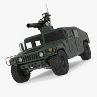hmmwv tow missile carrier 3d max