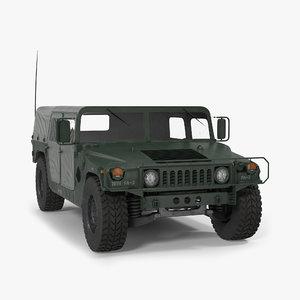 c4d soft military car hmmwv