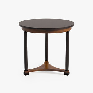 3d model of vanguard cyril lamp table