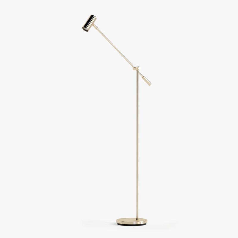 belid cato led floor lamp 3d max