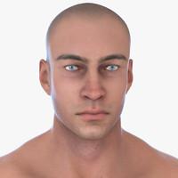 realistic male 3d fbx