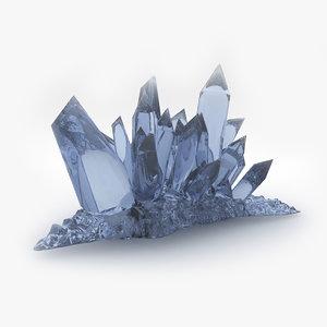 fantasy crystal obj