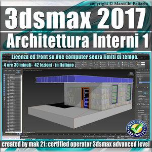 030 3ds max 2017 Architettura Interni 1 Volume 30 cd front