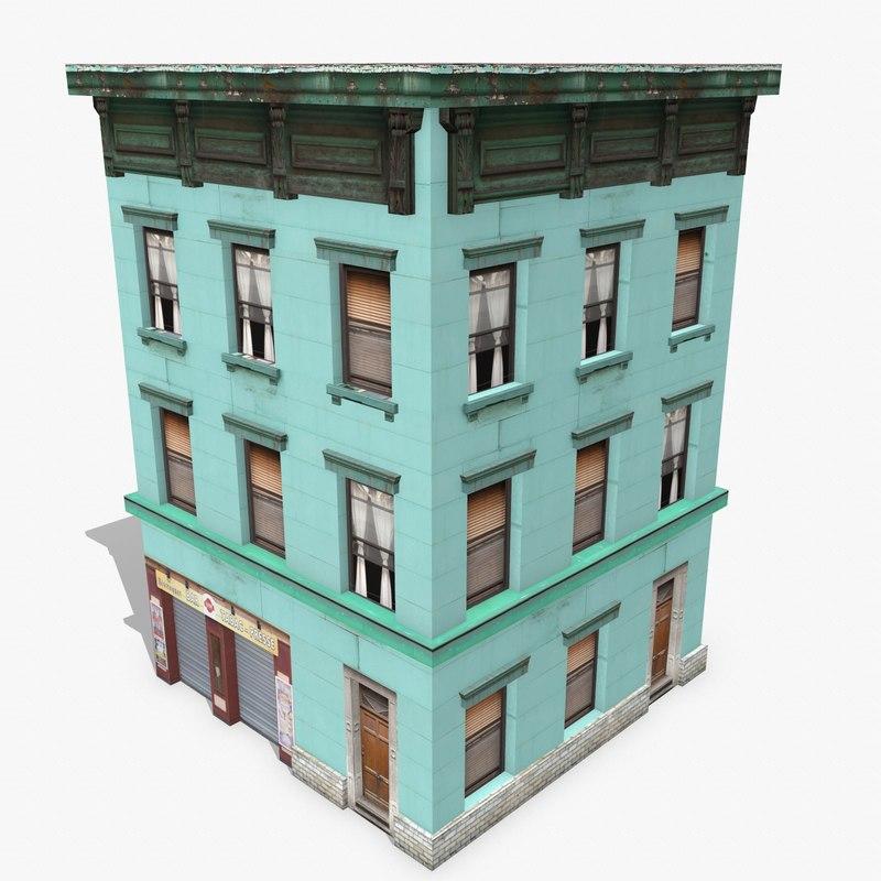 max photorealistic building apartment 7