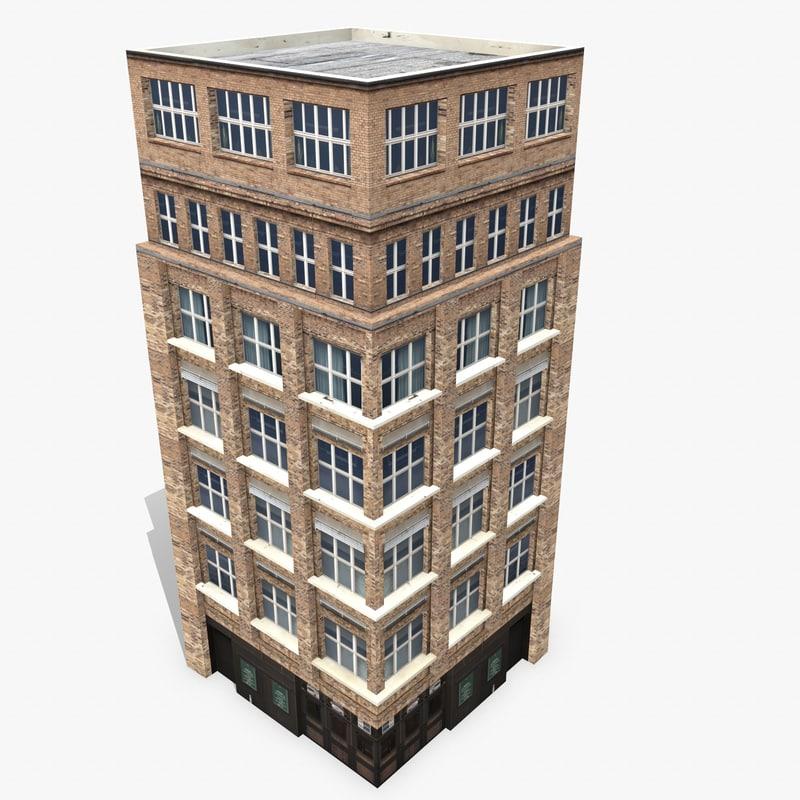 3d photorealistic building apartment 6