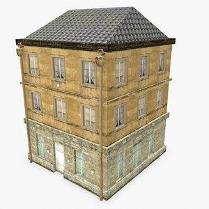3d model photorealistic building apartment 8