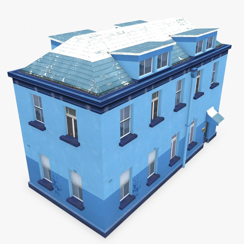 3d photorealistic building apartment 10